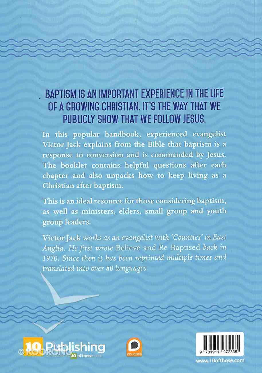 Believe and Be Baptised Booklet