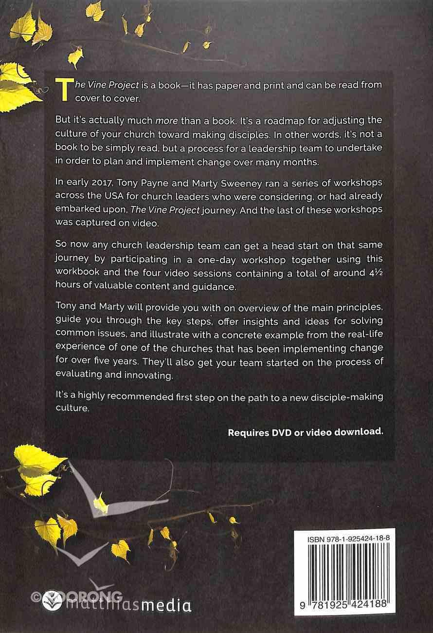 The Booklet Vine Project Workshop Paperback