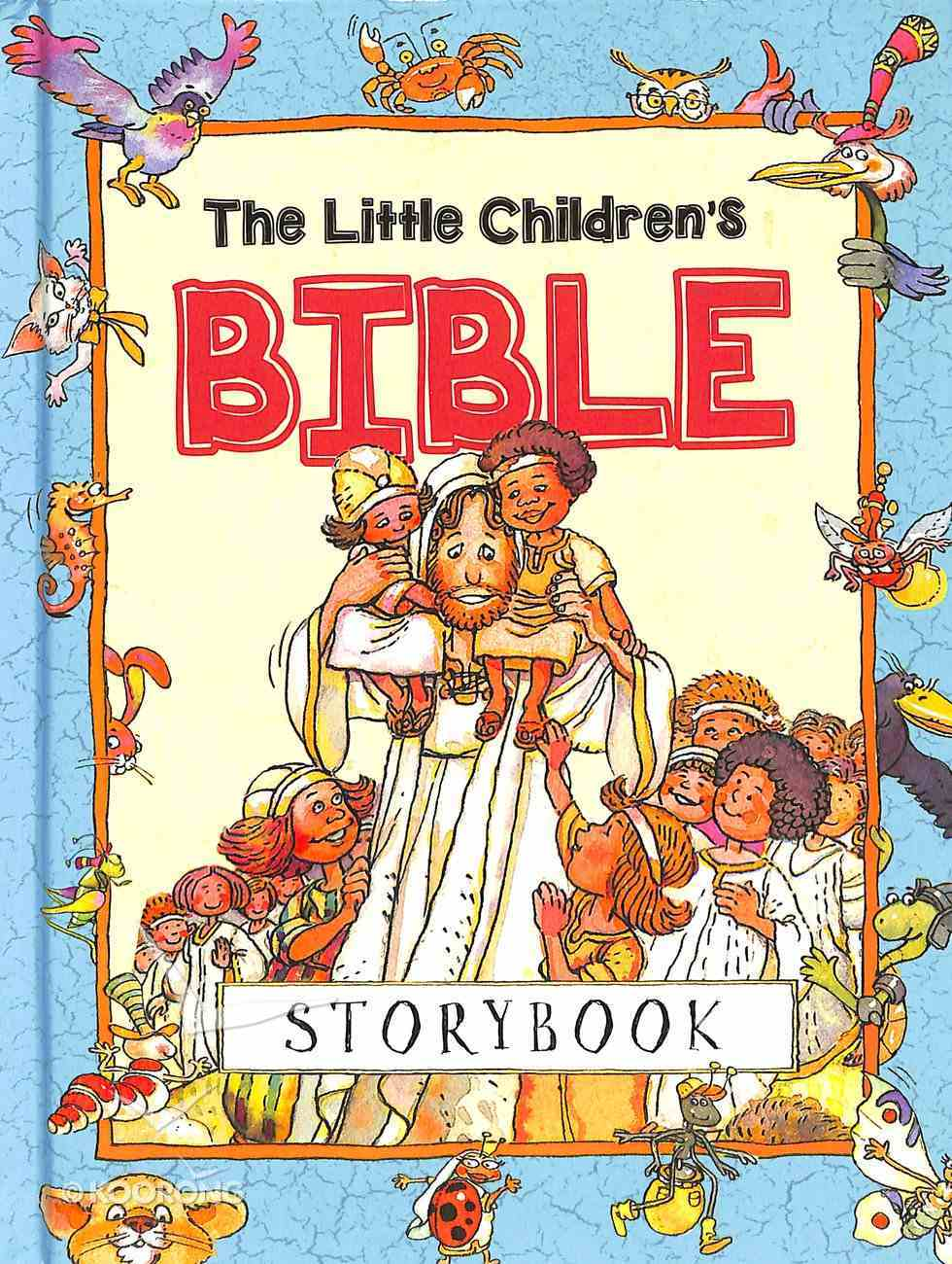 The Little Children's Bible Storybook (Abridged) Hardback