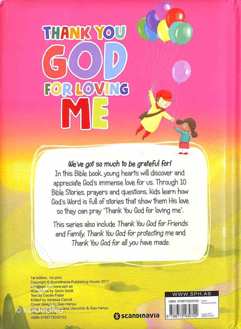 You Love Me (My Thank You Bible Storybook Series) Board Book