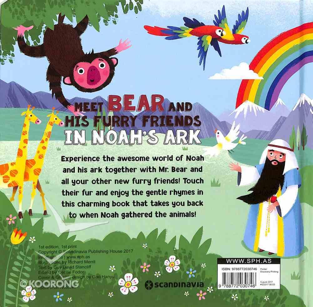 Meet Bear and His Furry Friends in Noah's Ark Hardback