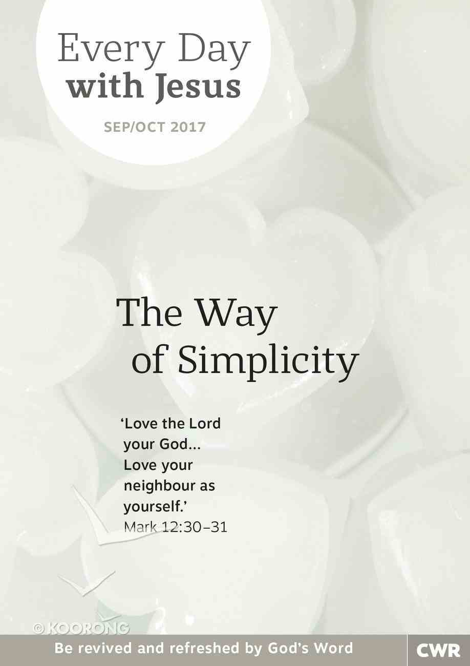 Lge 2017 #05: Sep-Oct (Every Day With Jesus Series) Magazine