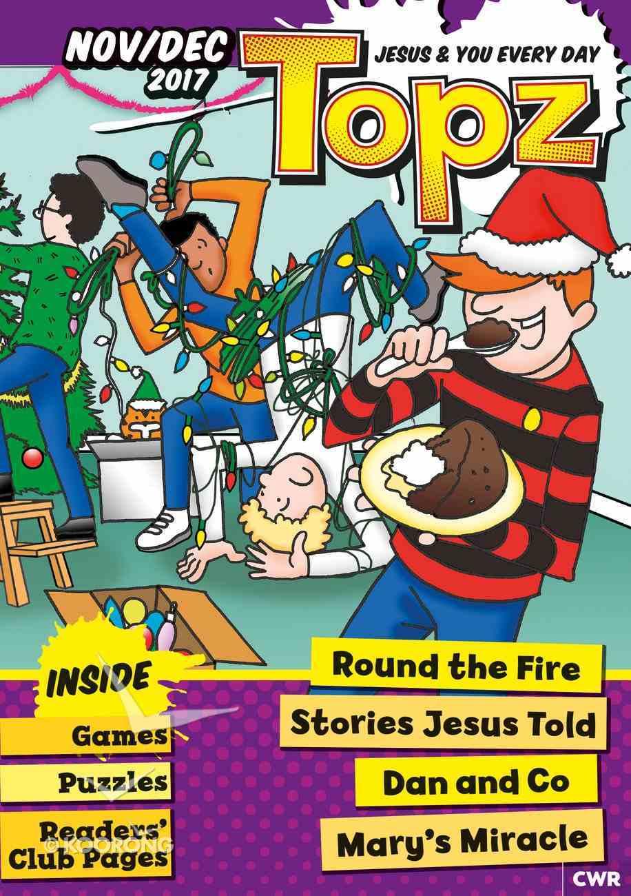 Topz 2017 #06: Nov-Dec (Every Day With Jesus Series) Magazine