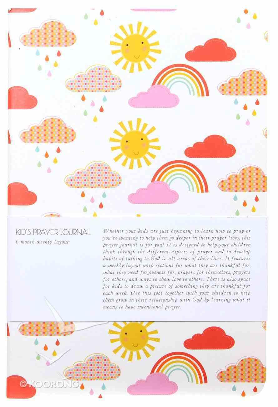 Kids Prayer Journal: 6 Month Weekly Layout (Rainbows) Paperback