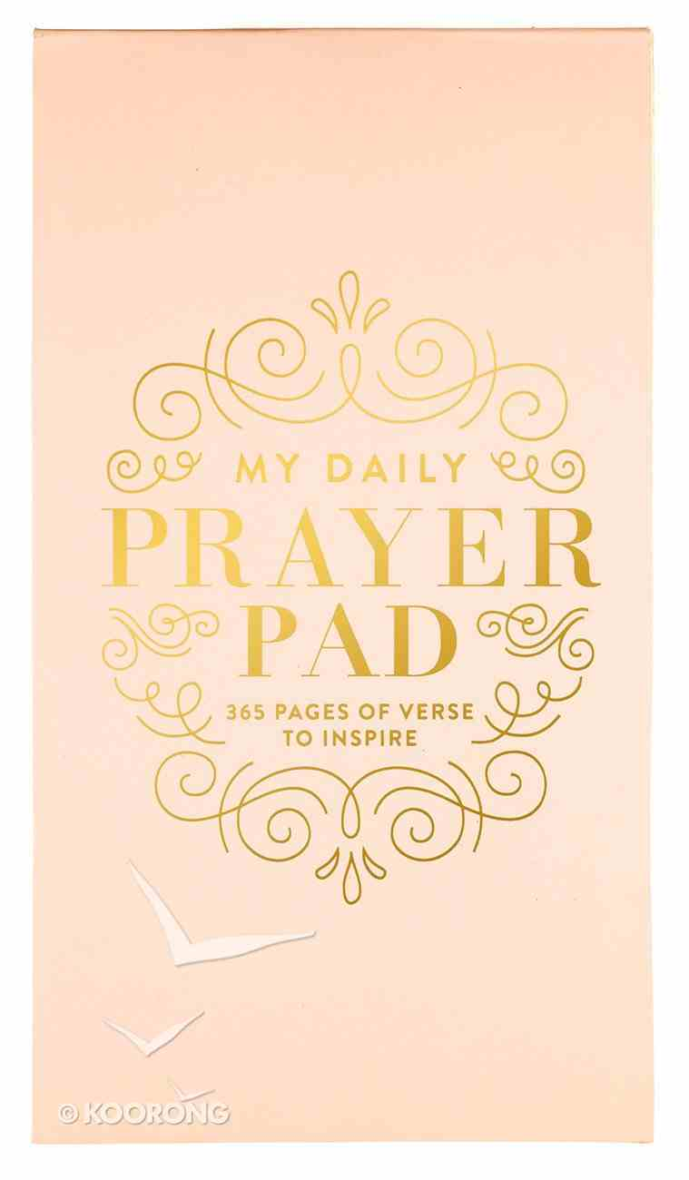 Daily Verse Pad: My Daily Prayer Pad, Pink Stationery