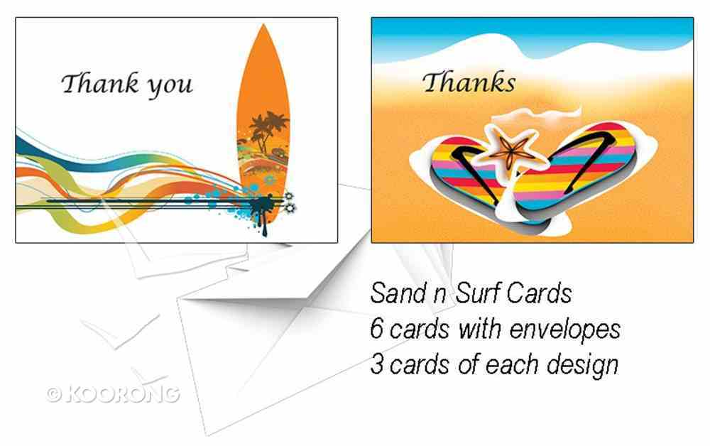 National Day of Thanks Card Pack K: Sand and Surf Cards