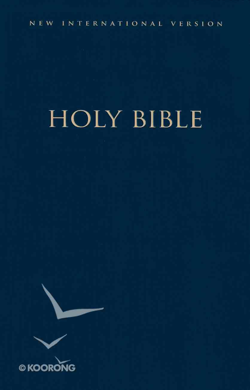 NIV Large Print Church Bible Navy Formerly NIV Large Print Pew Bible (Black Letter Edition) Hardback