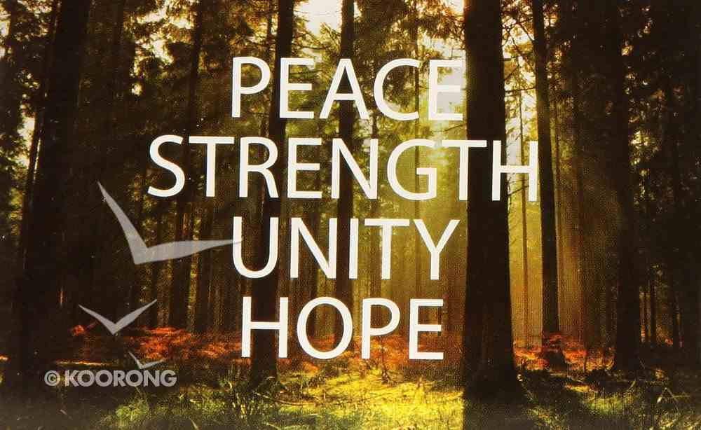 Peace, Strength, Unity, Hope Booklet
