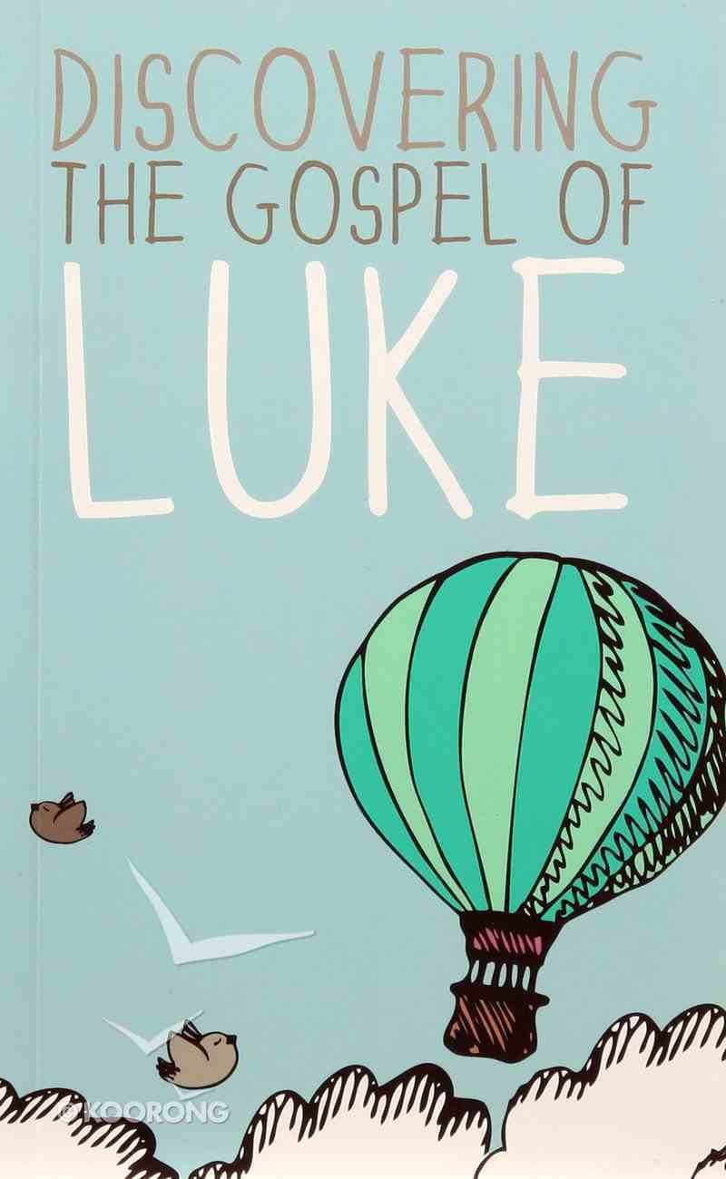 CEV Discovering the Gospel of Luke Black Letter Paperback
