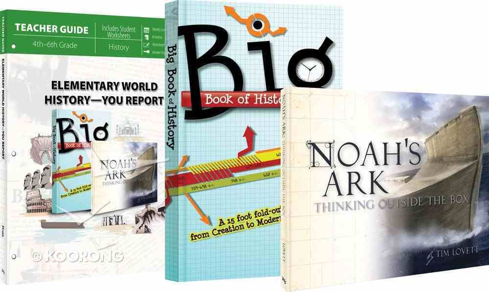 Elementary World History - You Report! / Noah's Ark - Thinking Outside the Box (Pack) Pack
