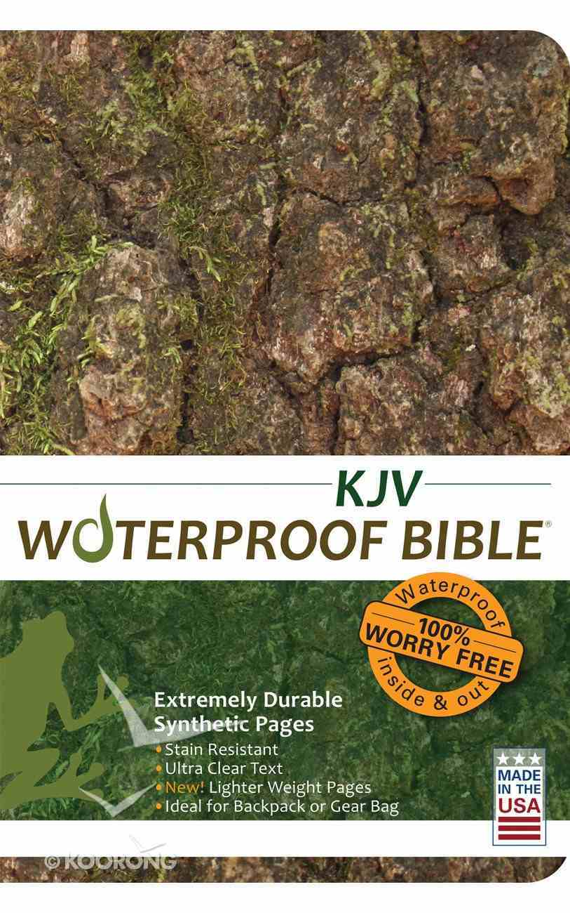 KJV Waterproof Bible Bark/Camouflage Waterproof