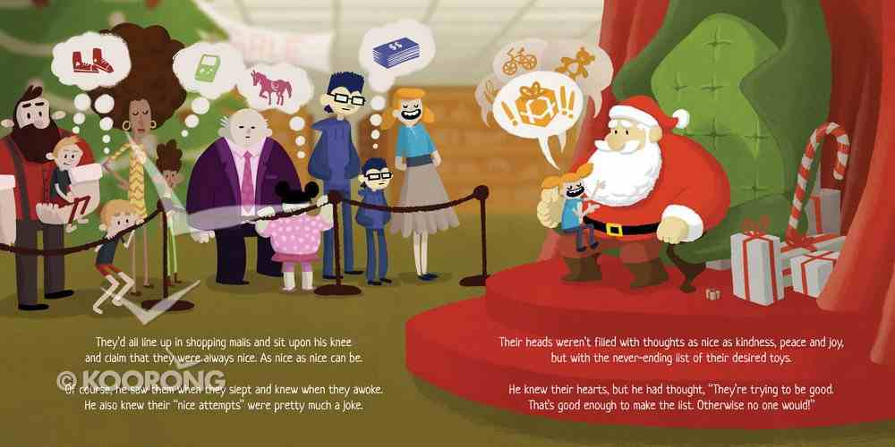 When Santa Learned the Gospel Hardback