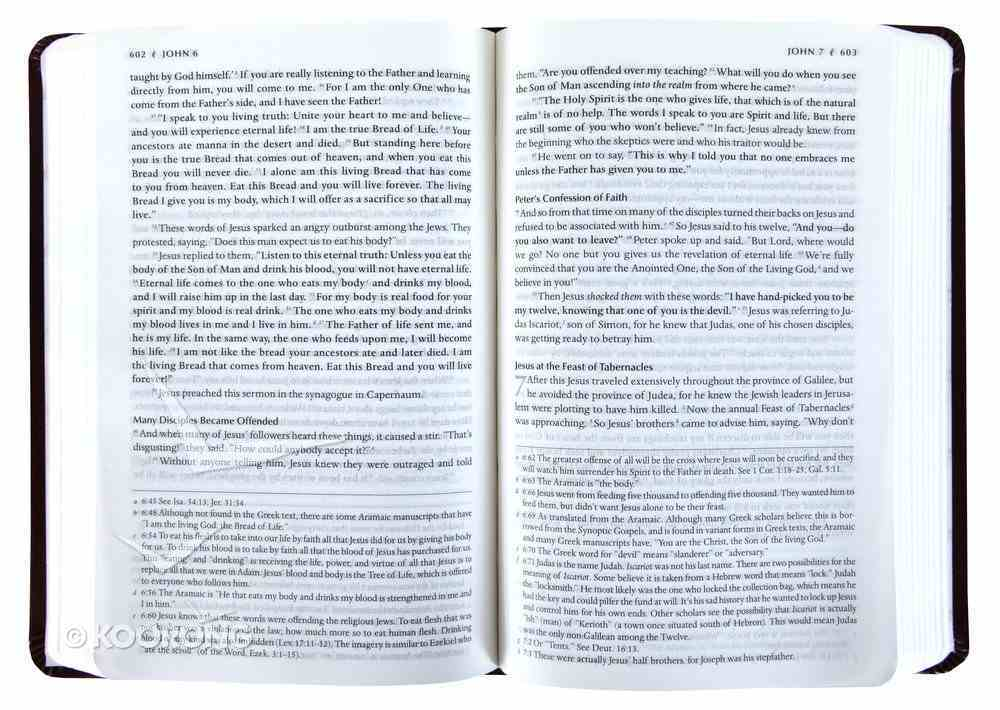 TPT New Testament Ivory (Black Letter Edition) (With Psalms Proverbs And Song Of Songs) Hardback