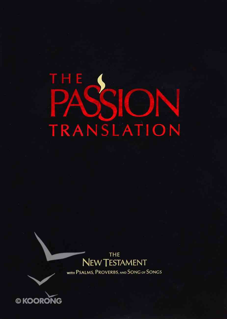 TPT New Testament Red (Black Letter Edition) (With Psalms Proverbs And Song Of Songs) Imitation Leather