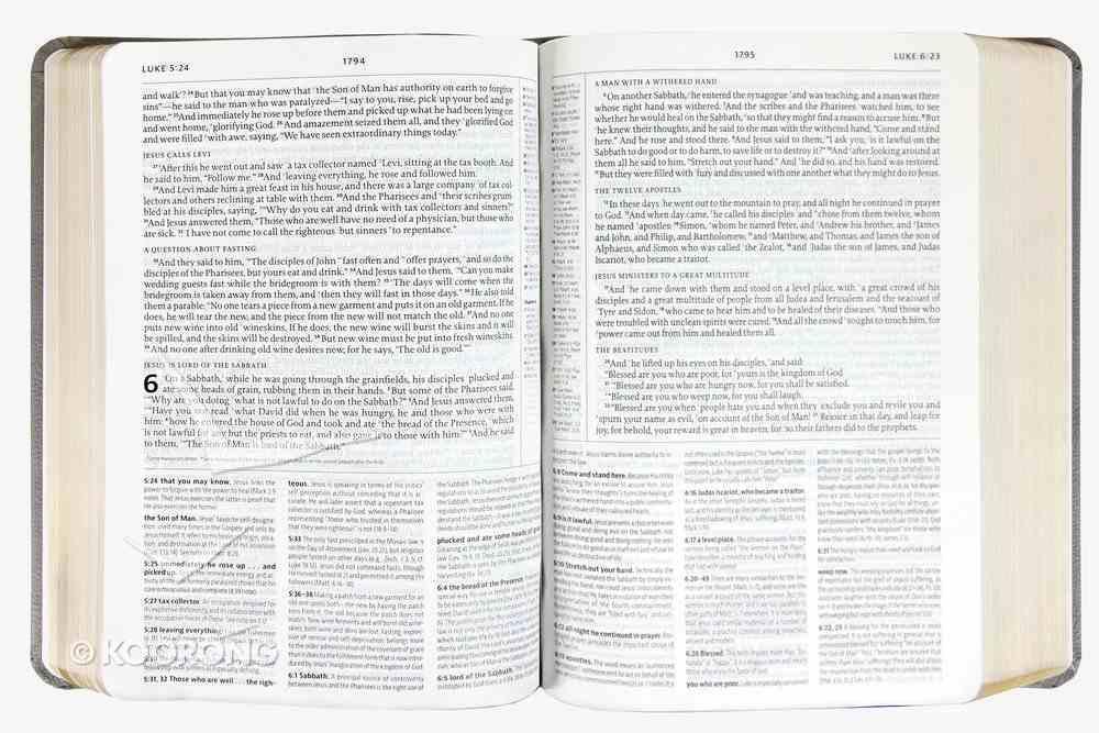 ESV the Reformation Study Bible Black Genuine Leather