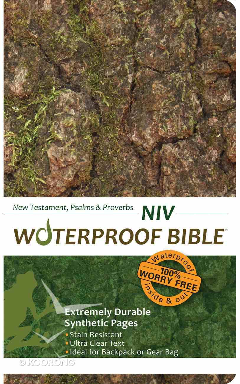 NIV Waterproof New Testament Psalms and Proverbs Camo (Black Letter Edition) Waterproof