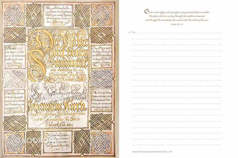 The Illuminated Psalms Journal Hardback