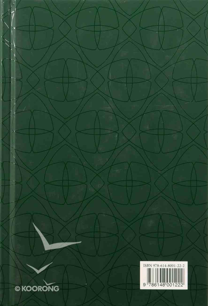 Arabic/English Good News Bible Green Hardback