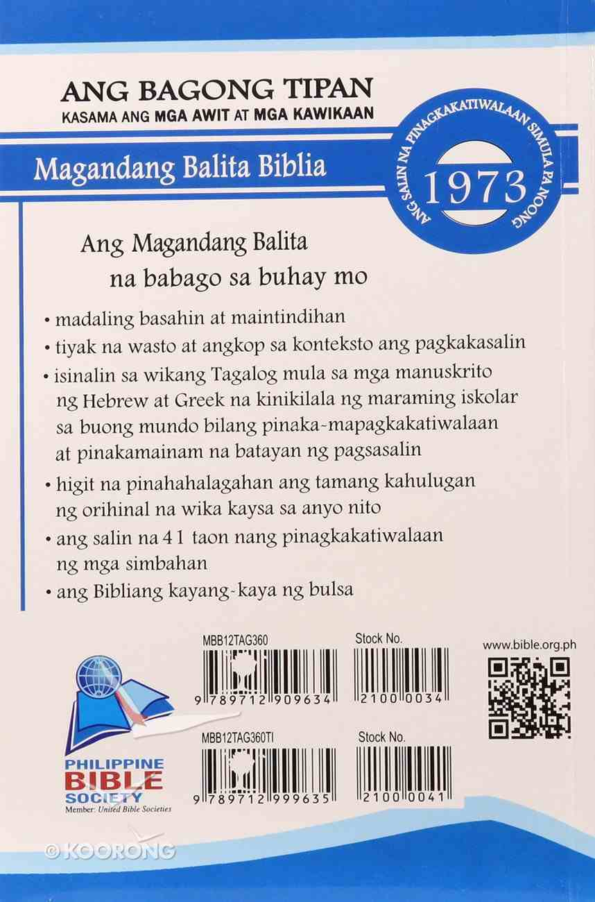 Tagalog New Testament Paperback