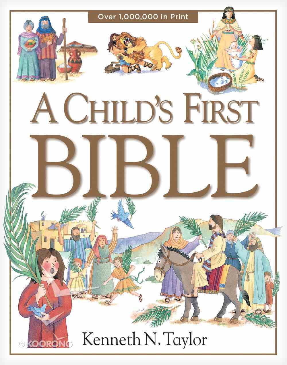 A Child's First Bible Hardback