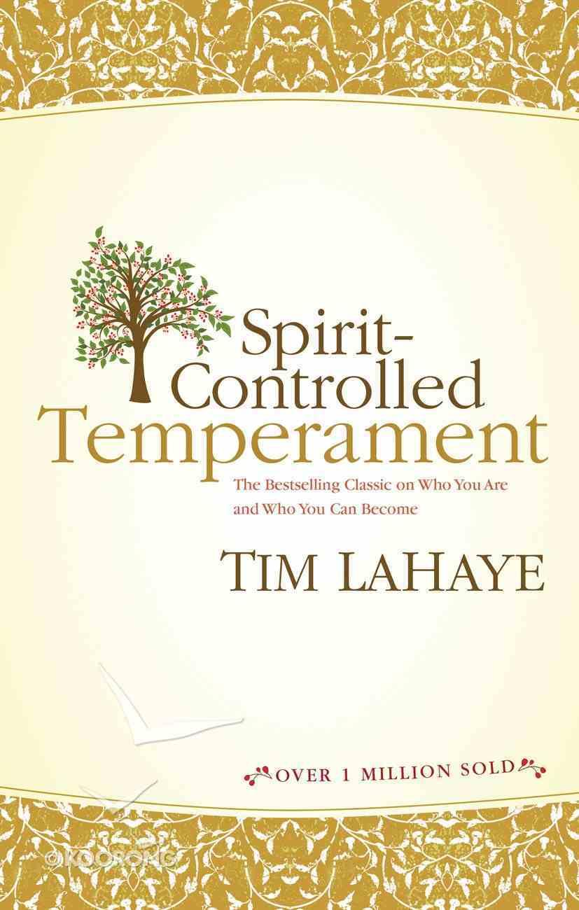 Spirit-Controlled Temperament Paperback
