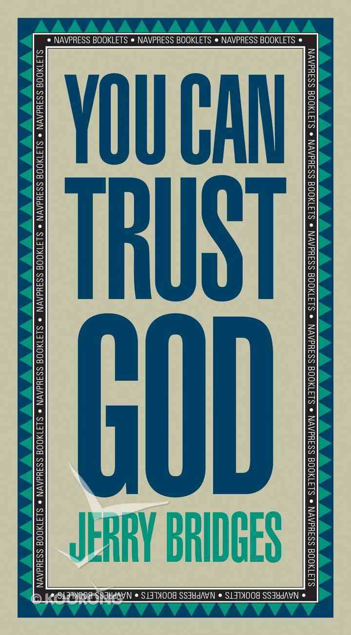 You Can Trust God Booklet