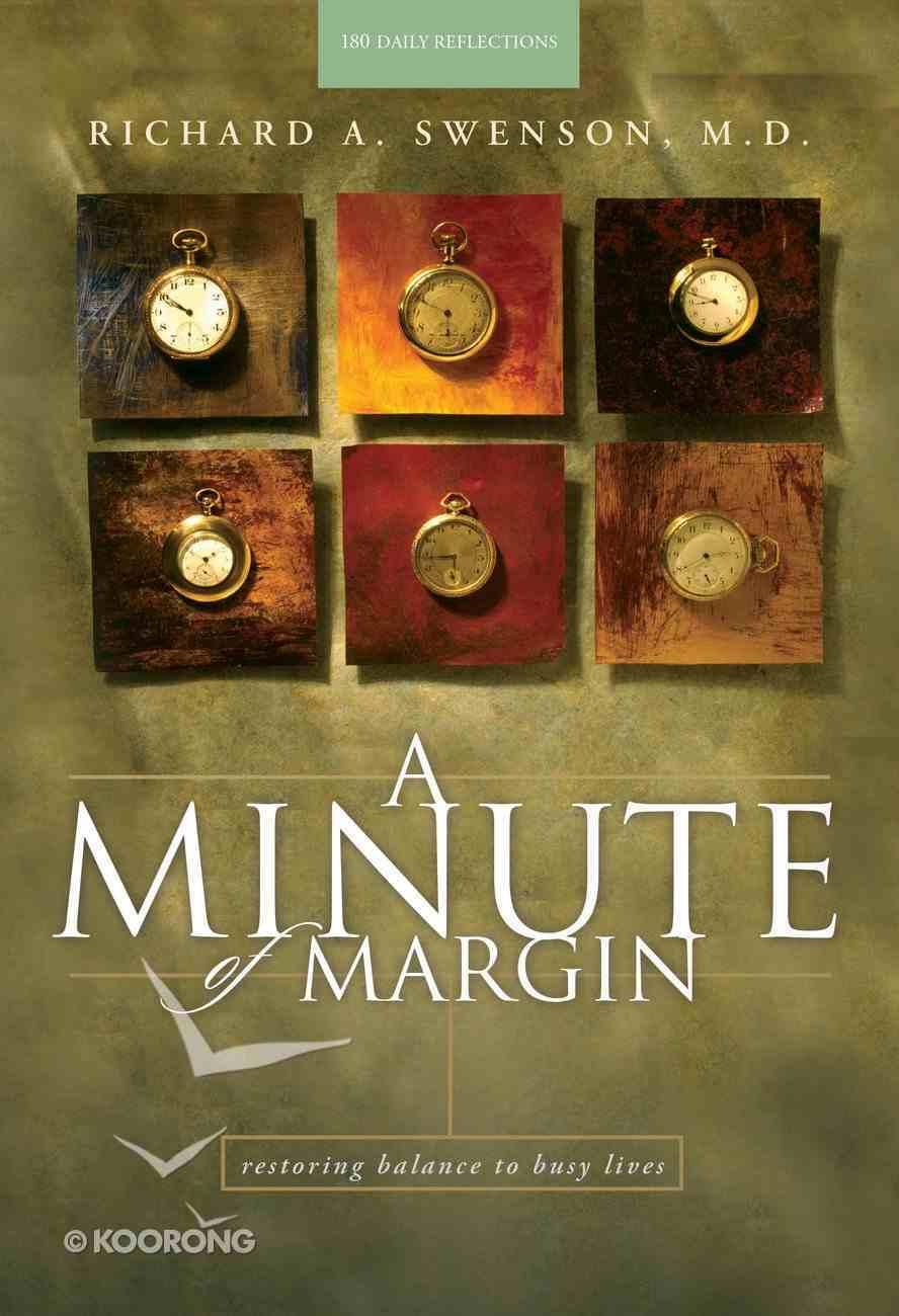 A Minute of Margin Hardback