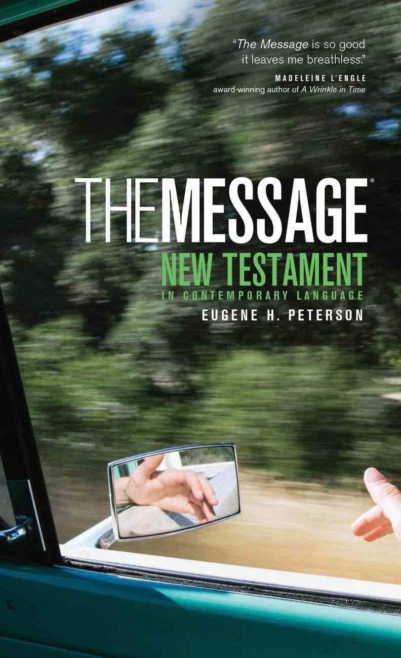 Message New Testament (Black Letter Edition) Mass Market