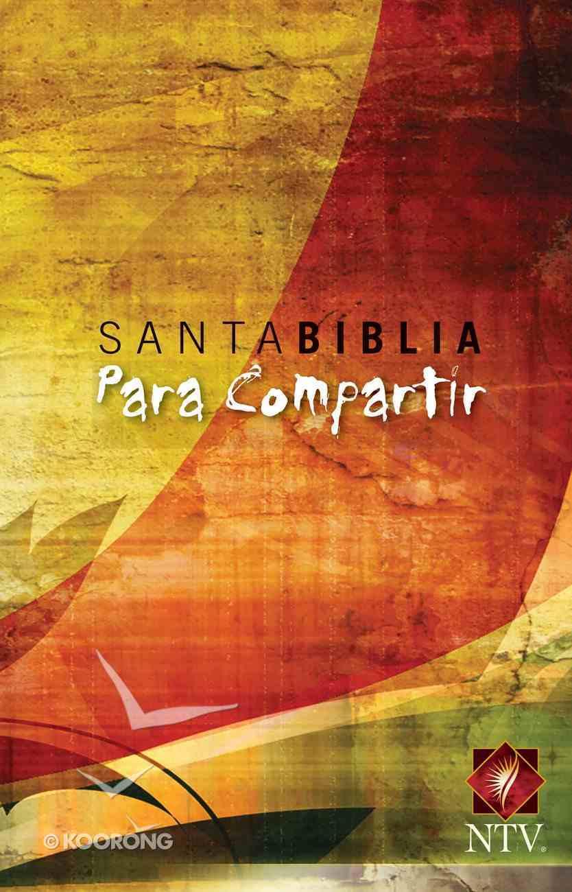 Ntv Santa Biblia Edicion Cosecha Diseno Para Compartir (Black Letter Edition) Paperback