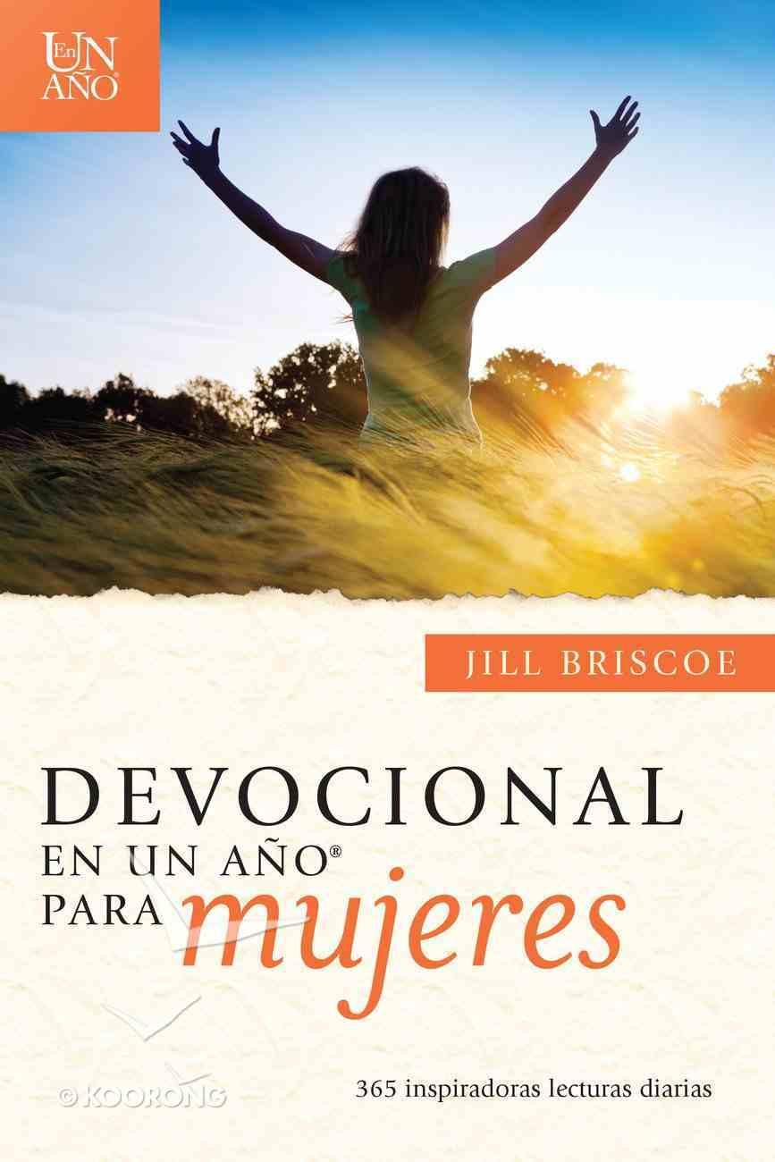 Devocional En Un Ao - Para Mujeres (One Year Devotional - For Women) Paperback