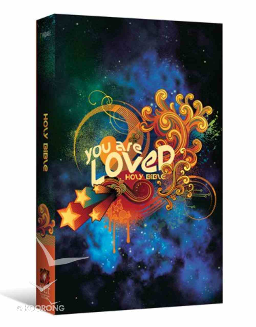 NLT You Are Loved Holy Bible (Black Letter Edition) Paperback