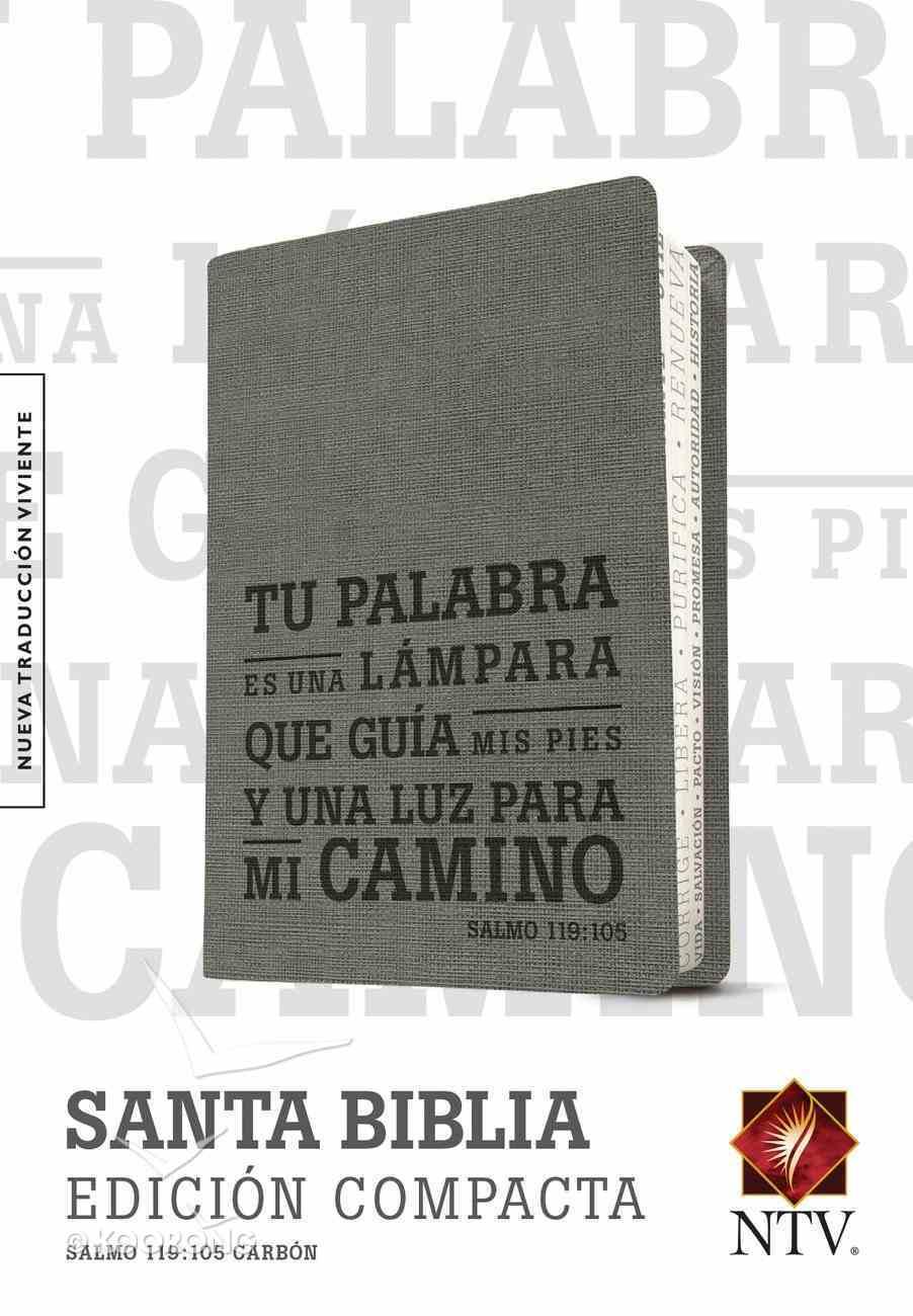 Ntv Edicion Compacta Charcoal Salmo 119: 105 (Black Letter Edition) Imitation Leather