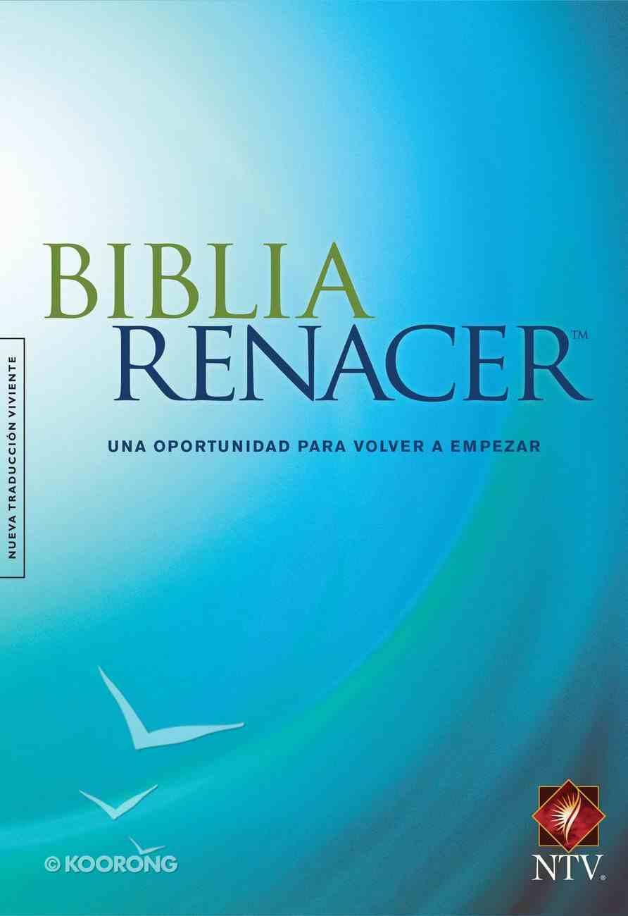 Ntv Biblia Renacer Blue (Black Letter Edition) Hardback