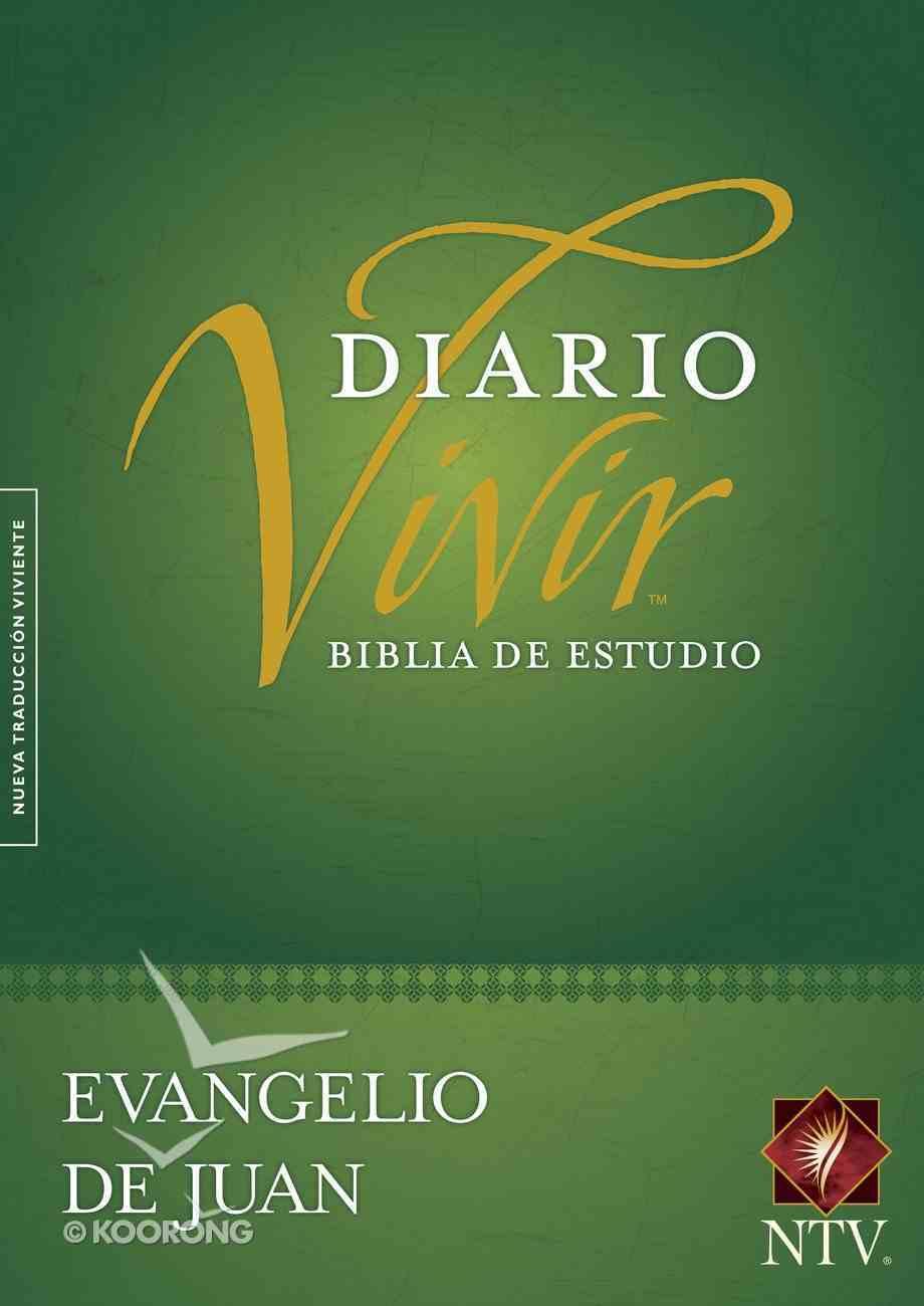 Ntv Evangelio De Juan Biblia De Estudio Del Diario Vivir (Red Letter Edition) Paperback