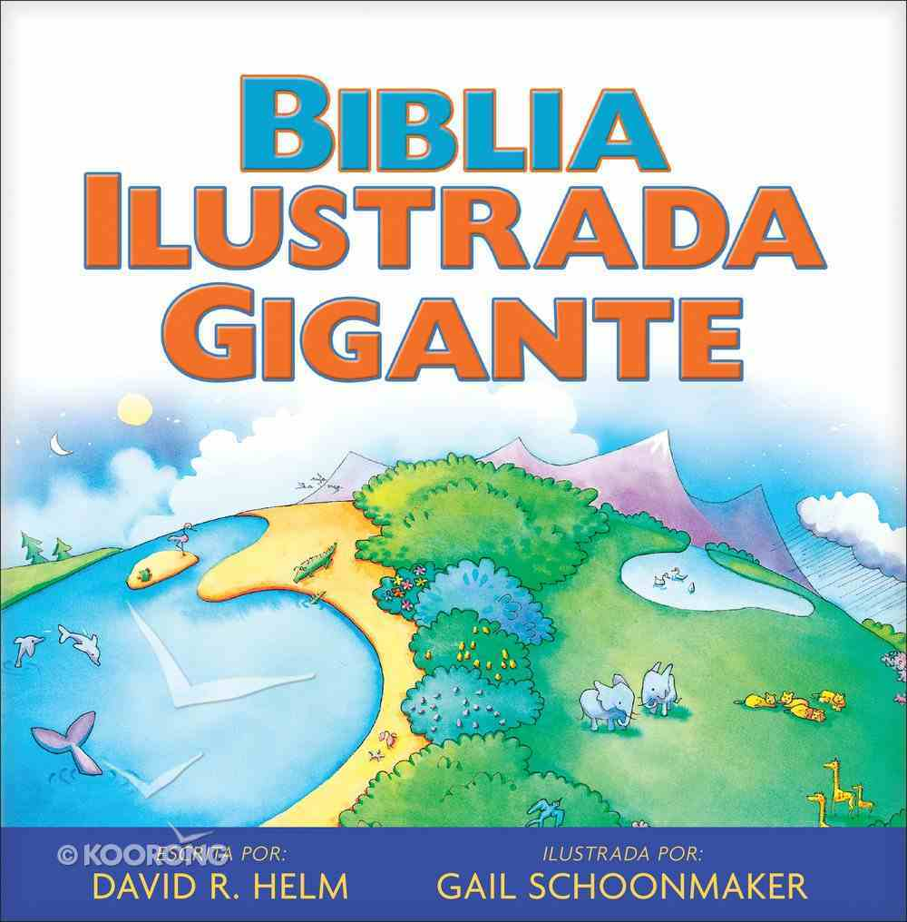 Biblia Ilustrada Gigante Hardback