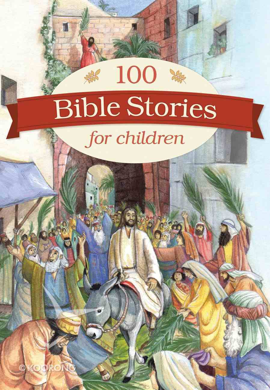 100 Bible Stories For Children Hardback