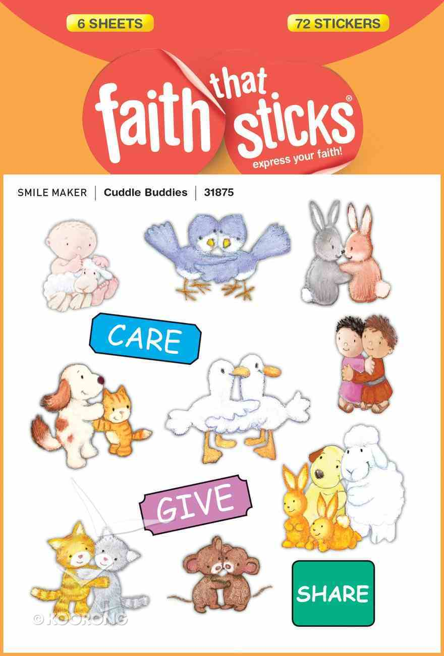 Cuddle Buddies (6 Sheets, 72 Stickers) (Stickers Faith That Sticks Series) Stickers