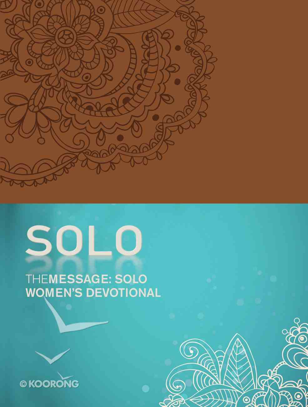 Message: The Solo Women's Devotional (Tan) Imitation Leather