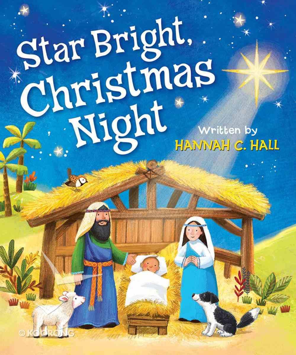 Star Bright, Christmas Night Board Book