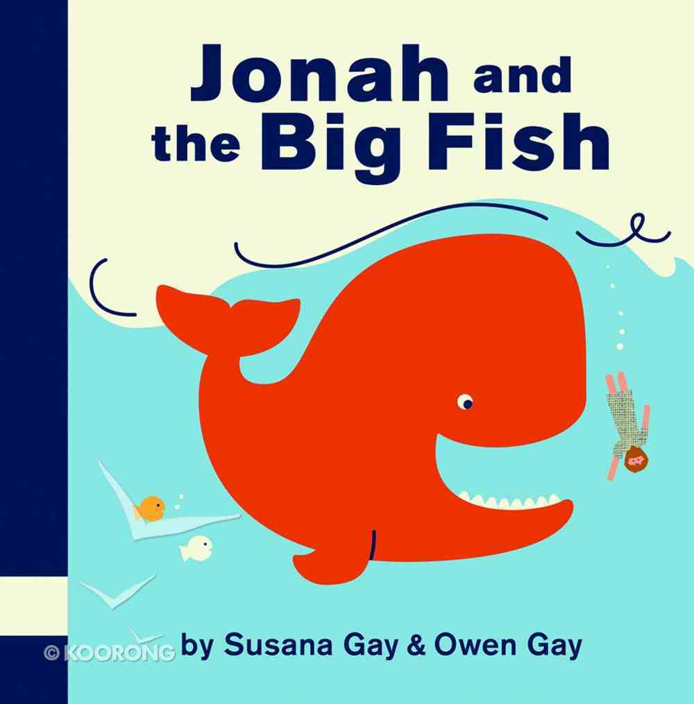 Jonah and the Big Fish Board Book
