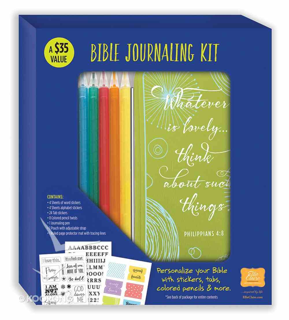 Bible Journaling Kit: Personalise Your Bible Pack