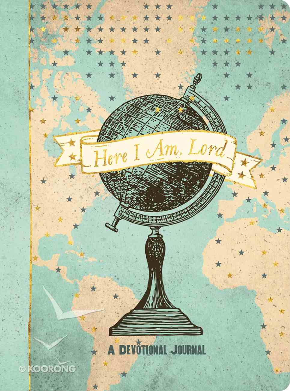 Here I Am, Lord Devotional Journal Paperback