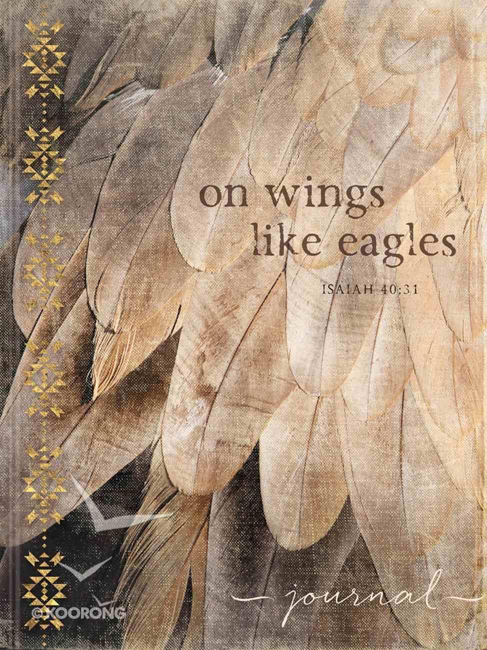 Signature Journal: On Wings Like Eagles (Isaiah 40:31) Hardback