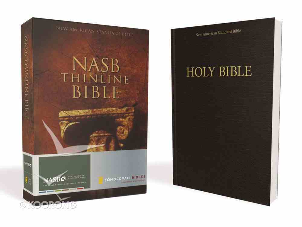 NASB Thinline Text Edition (Red Letter Edition) Paperback