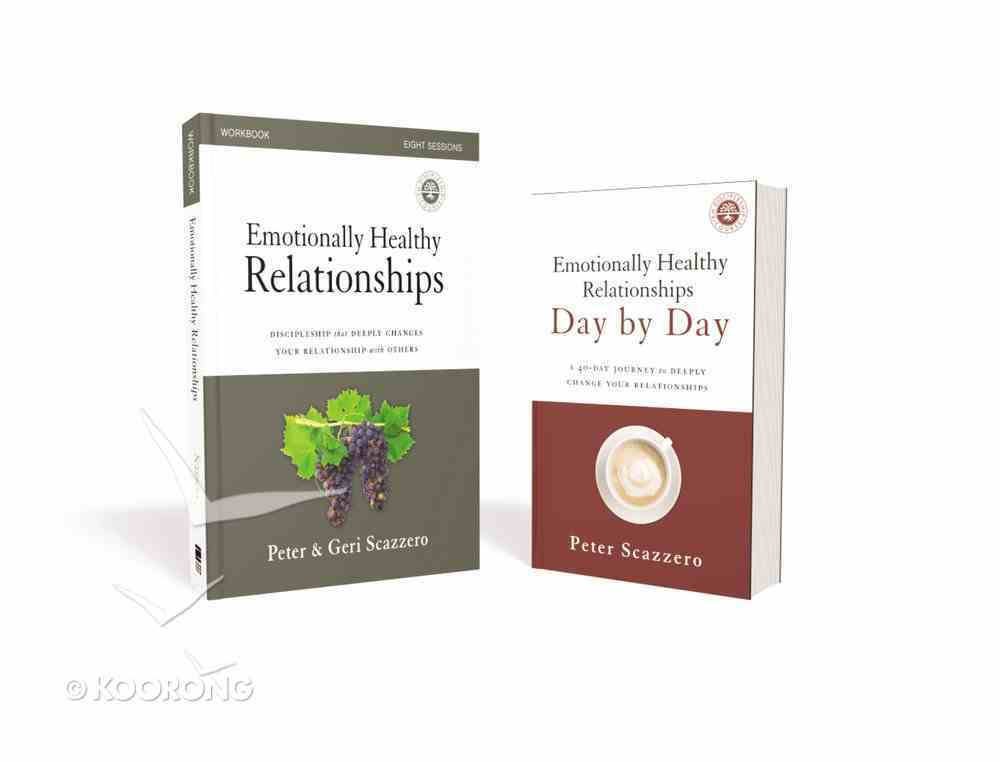 Emotionally Healthy Relationships: Discipleship That Deeply Changes Your Relationship With Others (Workbook & Devotional) Pack
