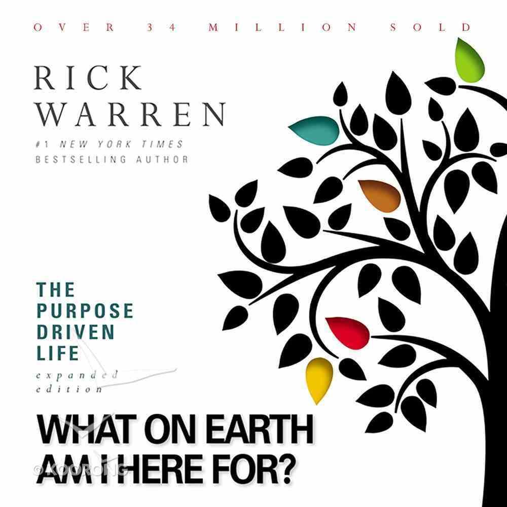 Purpose Driven Life (Unabridged, 9 Cds) CD
