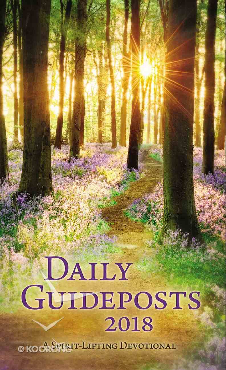 Daily Guideposts 2018 Large Print: A Spirit-Lifting Devotional Paperback