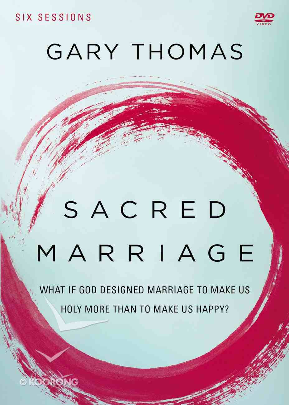Sacred Marriage: What If God Designed Marriage to Make Us Holy More Than to Make Us Happy? (Dvd Study) DVD