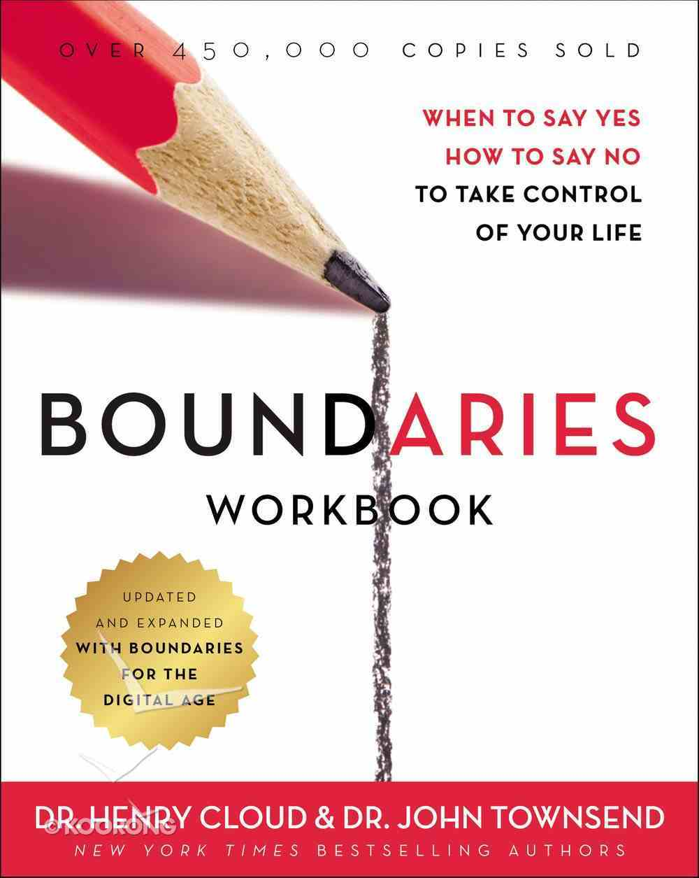 Boundaries: A Companion to the Book (Workbook) Paperback
