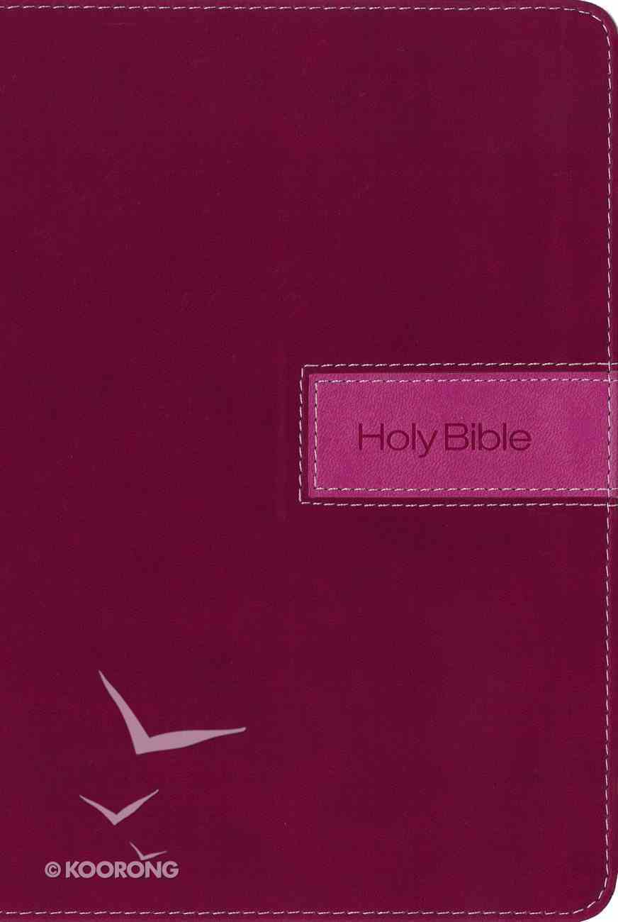 NIV Gift Bible Indexed Pink (Red Letter Edition) Premium Imitation Leather
